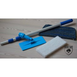 Kit Saving: DC172 Doodlebug Clean & Maintenance (doodlebug, its handle, 1 white pad and a scrub mop head) (DC)