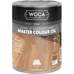 Woca Master Colour Oil Brazil Brown 102 1L 530200AA  (DC)
